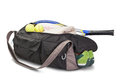 Tennis sports bag. Stock Photo