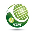 Tennis symbol Stock Photo