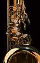 Tenor Sax Close up Royalty Free Stock Images