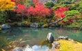 Tenryu ji garden in fall arashiyama kyoto japan beautiful Stock Photos