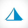 Tent vector icon Royalty Free Stock Photo