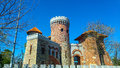Tepes castel in Bucharest Royalty Free Stock Photo
