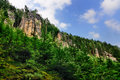 Teplice Rock Formations, Czech Republic Royalty Free Stock Photo