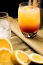 Tequila Sunrise cocktail Royalty Free Stock Photo