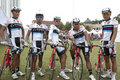 Terengganu Pro Asia Team Cycling Royalty Free Stock Photo