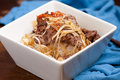 teriyaki beef stir fry Royalty Free Stock Photo