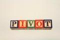 The term pivot Royalty Free Stock Photo