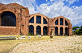 Termae diocletiani rome italy the baths of diocletian Royalty Free Stock Photos