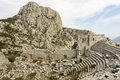 Termessos Ampitheatre Royalty Free Stock Photo