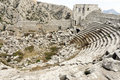Termessos Ampitheatre Royalty Free Stock Photos