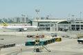 Terminal number of international airport ben gurion in tel avi aviv circa july israeli circa july aviv israel Royalty Free Stock Photos