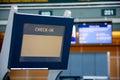 Terminale di registrazione Fotografia Stock