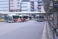Terminus de bus de station de kyoto japon Image stock