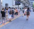 Terminus de bus de station de kyoto japon Photo stock