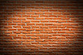 Terra cotta brick wall background Stock Photo