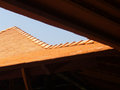 Terra cotta roof Royalty Free Stock Photo