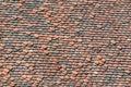 terra cotta roof tiles texture Royalty Free Stock Photo