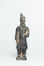 Terra cotta warriors by ancient china Royalty Free Stock Photography