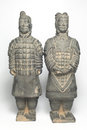 Terra cotta warriors two Royalty Free Stock Photography