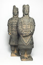 Terra cotta warriors two Stock Photo