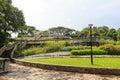 Terrace garden in telok blangah hill park singapore Royalty Free Stock Photos