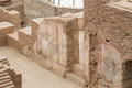Terrace Houses in Ephesus Ancient City Royalty Free Stock Photo