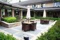 terrace of restaurant Royalty Free Stock Photo