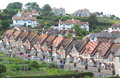 Terraced houses Royalty Free Stock Photo
