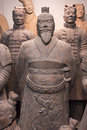Terracotta Army Soldiers, Xian China, Closeup Royalty Free Stock Photo