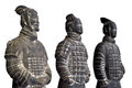 Terracotta army the or the terra cotta warriors and horses is a collection of sculptures depicting the armies of qin Stock Photo