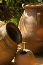 Terracotta pots Royalty Free Stock Photo
