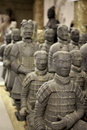 Terracotta Soldiers Royalty Free Stock Photo