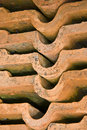Terracotta Tiles Royalty Free Stock Images