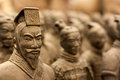 Terracotta warrior Royalty Free Stock Photo