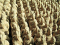 Terracotta Warrior Replicas Royalty Free Stock Photo