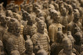 Terracotta Warriors Army Royalty Free Stock Photo