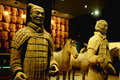 Terracotta warriors and horses Royalty Free Stock Photos