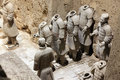Terracotta Warriors in Xian, China on Jun Royalty Free Stock Photo