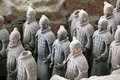 Terracotta warriors of XiAn, Qin Shi Huang's Tomb Royalty Free Stock Photography