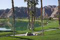 Terrain de golf occidental de Pga, Palm Spring Images stock