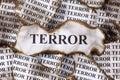 Terror Royalty Free Stock Photo