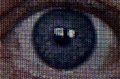 Television Eye Macro Royalty Free Stock Photo