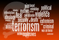 Terrorism relevant and important issues regarding Stock Photography