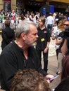 Terry Gilliam en la premier de Toy Story 3 Imagen de archivo