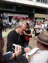 Terry Gilliam na premier de Toy Story 3 Imagem de Stock