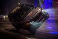 Terry Grant Stunt, Autosport International 2016 Royalty Free Stock Photo