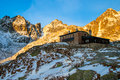 Teryho chata slovakia hut is one of the most recognized huts in high tatras it s altitude is m it was built in and it s a popular Royalty Free Stock Photo