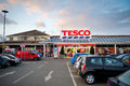 Tesco store in droylsden manchester uk mar on march united kingdom great britain england is britain s Stock Images