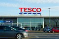 Tesco store in manchester oldham dec on dec united kingdom great britain england uk britain s biggest supermarket and Stock Images
