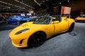 Tesla Roadster Sport Stock Image